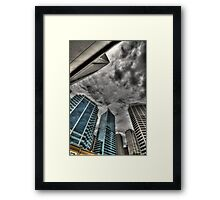 A Storm on Sydney  Framed Print