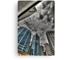 A Storm on Sydney  Canvas Print