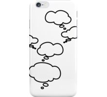 Thought Bubbles iPhone Case/Skin