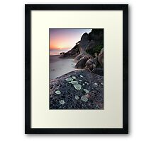 Dawn - Lighthouse Point Framed Print