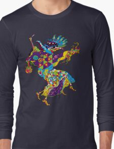 Psychedelic Plague Doctor Long Sleeve T-Shirt