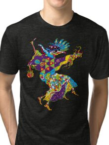 Psychedelic Plague Doctor Tri-blend T-Shirt