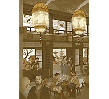 The Heavenly Lotus Tea House Photographic Print