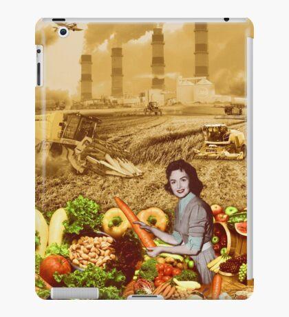 Factory Food or Local Food? iPad Case/Skin