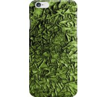 Peeling Paint (green) iPhone Case/Skin