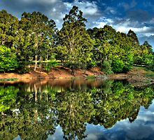 """Let Us Reflect"" - Marysville - Yarra Ranges - The HDR Experience by Philip Johnson"