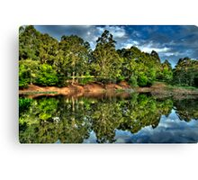 """""""Let Us Reflect"""" - Marysville - Yarra Ranges - The HDR Experience Canvas Print"""