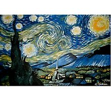 Reproduction of Starry Night Photographic Print