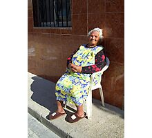 """ Old Conchita."" Photographic Print"
