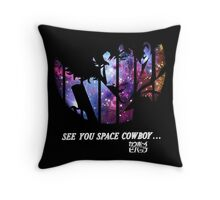 Cowboy Bebop - Nebula Throw Pillow