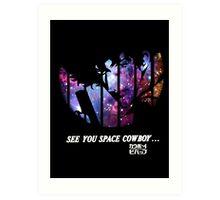 Cowboy Bebop - Nebula Art Print