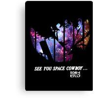 Cowboy Bebop - Nebula Canvas Print