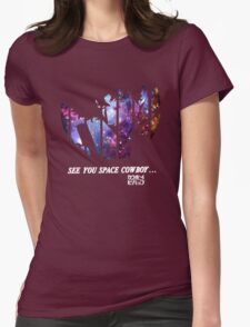 Cowboy Bebop - Nebula Womens Fitted T-Shirt