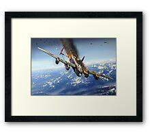 Berchtesgaden Lancaster F-for-Freddy Framed Print