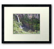 The Mac Mac Falls Framed Print