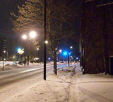Cuyahoga Falls Ave Winter 2009 3 by coffeenoir