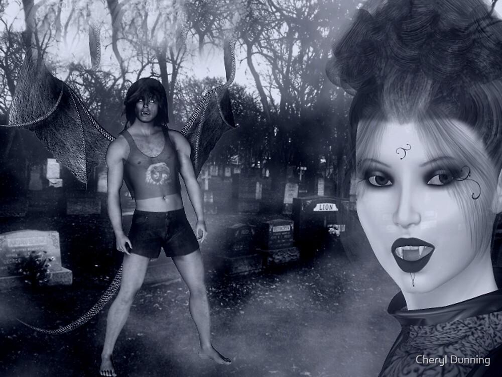 vampire queen by Cheryl Dunning