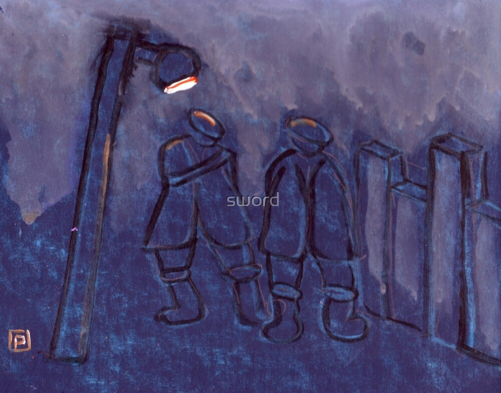 Foggy Night by sword