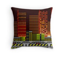 Chemical plant Zone Throw Pillow