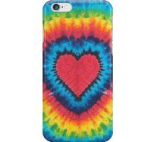 Tie-Dye Heart iPhone Case/Skin