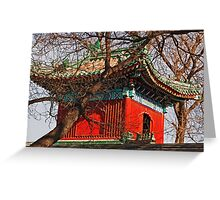 A Side Street Penthouse In Beijing - 2 © Greeting Card