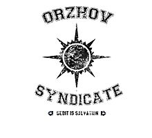 Orzhov Syndicate Guild Photographic Print