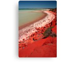 """Desert, meet Ocean..."" Monkey Mia, Western Australia Canvas Print"