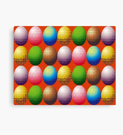 Eggs, eggs, eggs Canvas Print