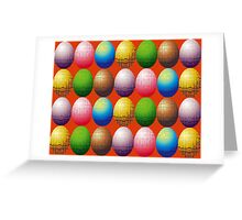 Eggs, eggs, eggs Greeting Card