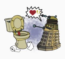 dalek love Kids Clothes