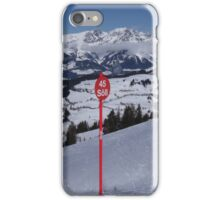 Soll Ski Resort Austria iPhone Case/Skin