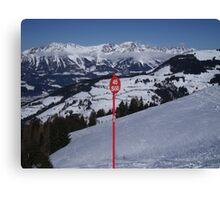 Soll Ski Resort Austria Canvas Print