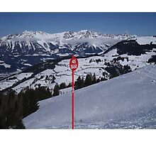 Soll Ski Resort Austria Photographic Print