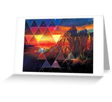 The Mountain Sky  Greeting Card