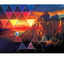 The Mountain Sky  Photographic Print