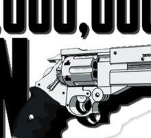 Trigun $$60000000000 Man Sticker