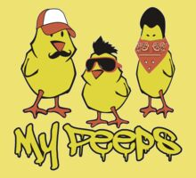 My Peeps Easter Chick Tees Kids Clothes