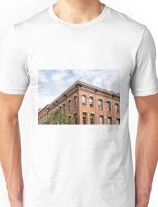 Old Brick Building and Sky Unisex T-Shirt