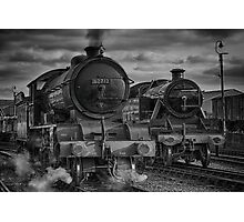 Steam Nostalgia At Barrow Hill Roundhouse. Photographic Print