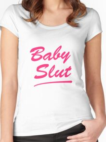 Baby Slut Titus Andromedon- UnBreakable  Women's Fitted Scoop T-Shirt