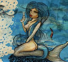 pin up - siren lowar ocean by Doomko