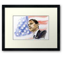 Barack Obama 03 Framed Print
