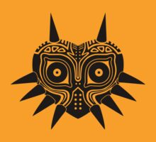 Majora's Mask (Tattoo, black) by hopperograss