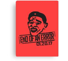 End of an Error Canvas Print