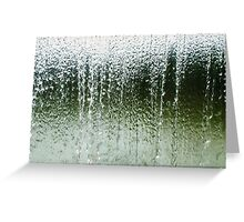 Water Wall Greeting Card