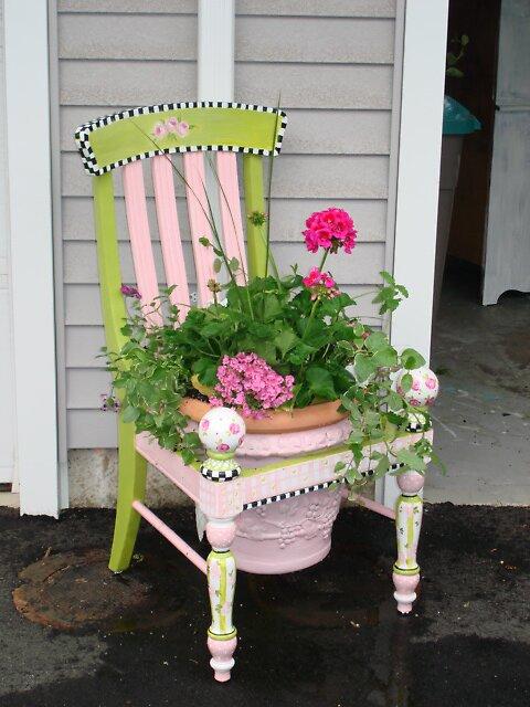 Condo Garden, Wallingford, Connecticut by Cathy Amendola