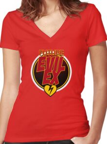 Future Evil Ex Women's Fitted V-Neck T-Shirt