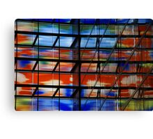 Coloured Reflections Canvas Print