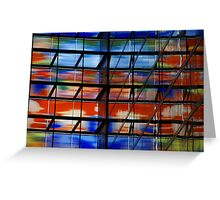 Coloured Reflections Greeting Card