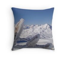 Mountain Tops 1 Throw Pillow